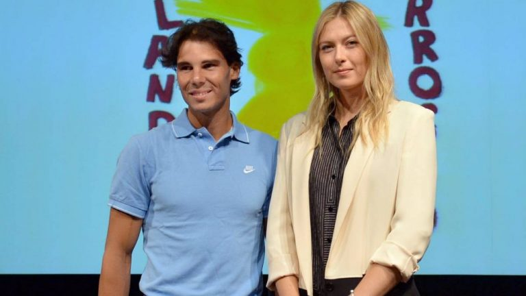 Maria Sharapova está sorprendida de toda la carrera de Nadal