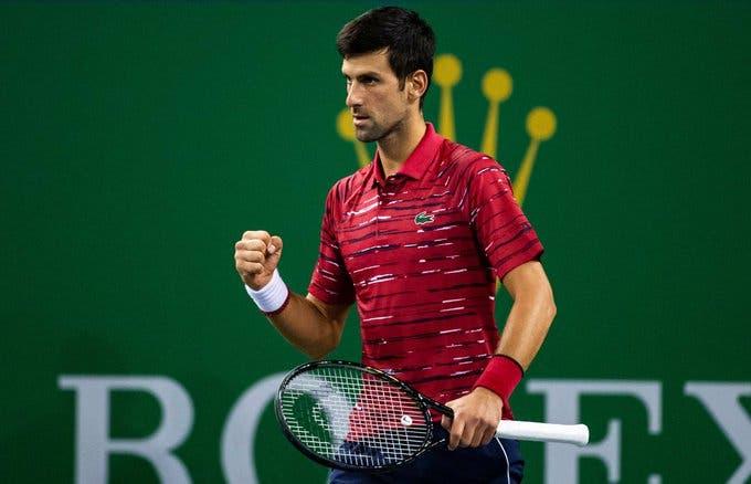 Djokovic: «Mentiría si dijera que no pienso en el récord de los Grand Slams»