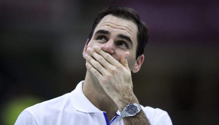 Federer sufrió crisis emocional por cancelación de exhibición en Colombia