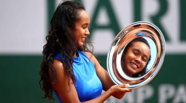 Leylah Fernández sigue los pasos de Bianca Andreescu