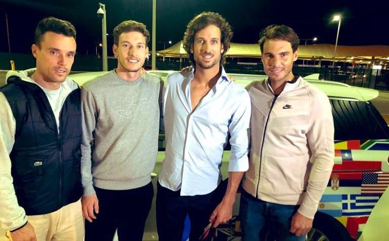 El equipo español ya llegó a Perth para la ATP Cup