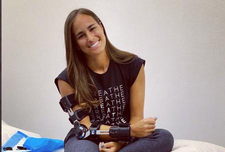 Mónica Puig salió con éxito de su operación, pero se perderá el Open de Australia