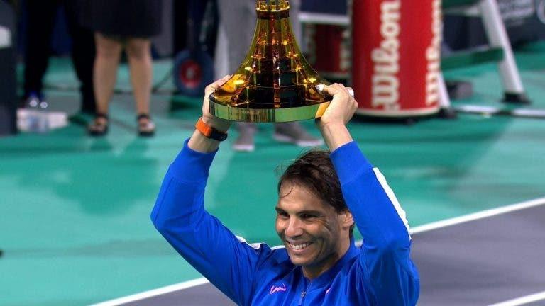 Rafael Nadal rompe el record de títulos ganados en Abu Dabi