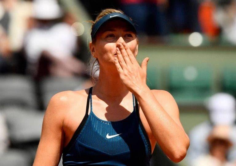 Maria Sharapava no ha olvidado el tenis después de todo