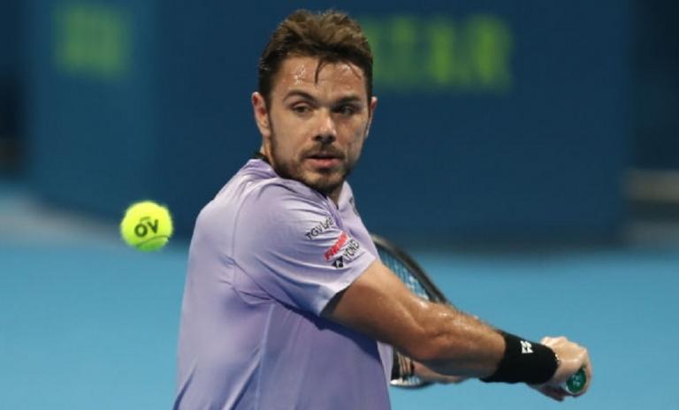 Wawrinka pierde contra tenista de la NextGan en las semifinales de Doha