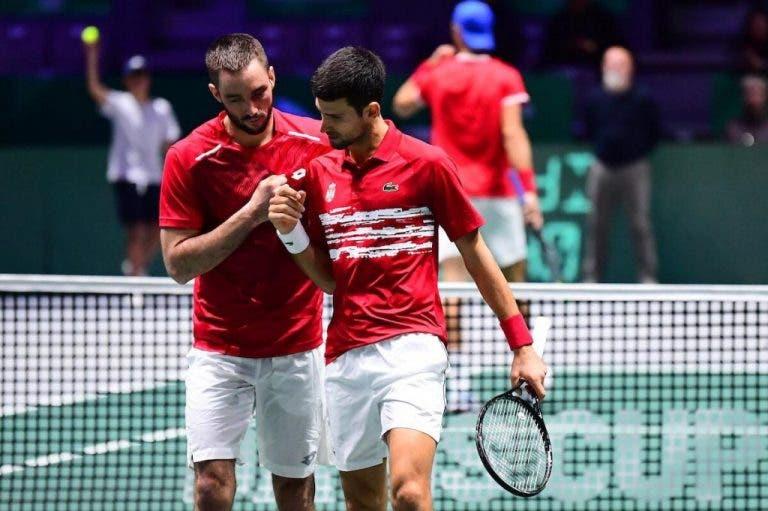 Djokovic y Troicki ganan el decisivo de dobles y Serbia pasa a los cuartos de final de la ATP Cup