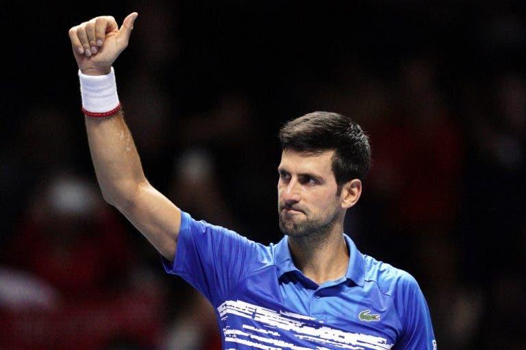 Djokovic quiere usar la energía positiva que ganó en la ATP en Melbourne