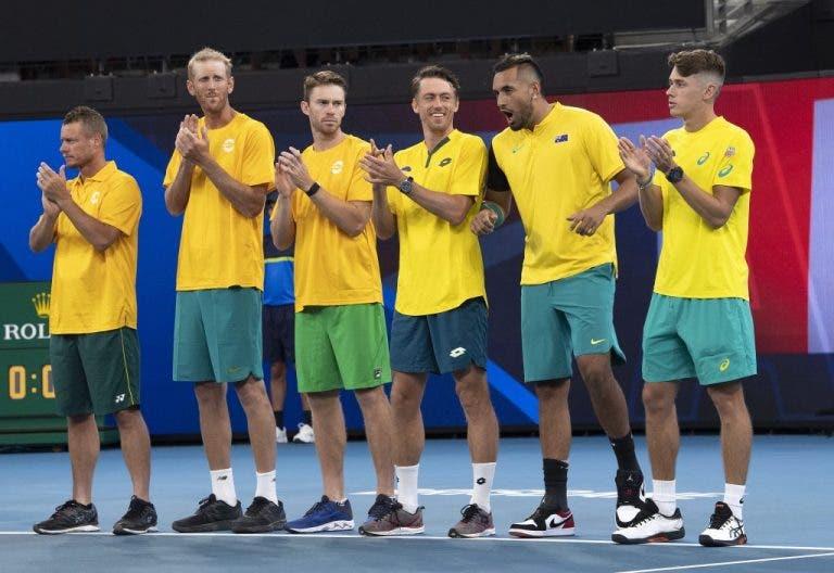 Las increíbles similitudes entre los cuartos de final de la ATP Cup y las finales de la Copa Davis