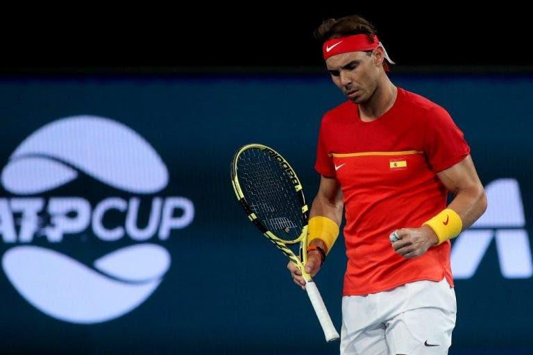 Rafael Nadal considera increíble tener dos copas mundiales en dos meses
