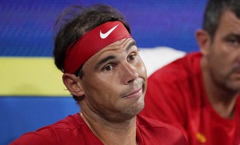 Rafael Nadal analiza brevemente su juego luego de derrota ante Djokovic