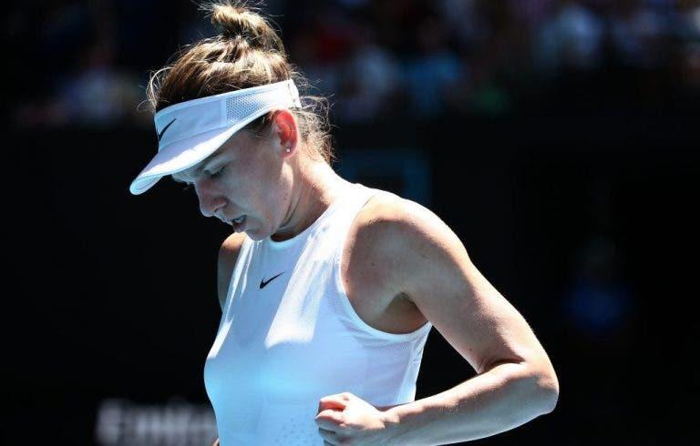 Halep avanzó tranquilamente a los cuartos de final del Open de Australia