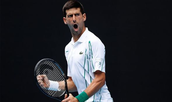 Novak Djokovic sirve mejor que nunca y gana en solo 86 minutos