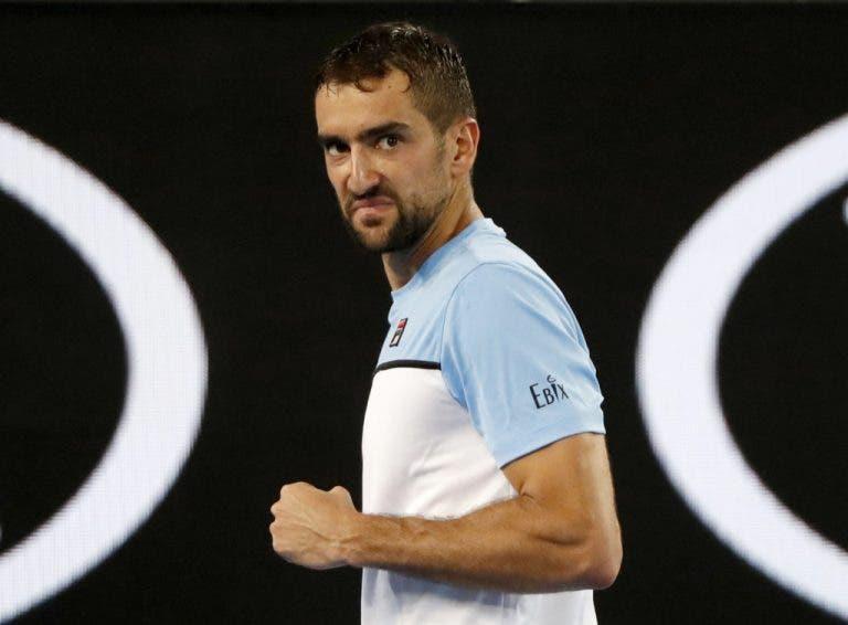 Cilic, Fucsovics y Sandgren ya están en los octavos del Open de Australia