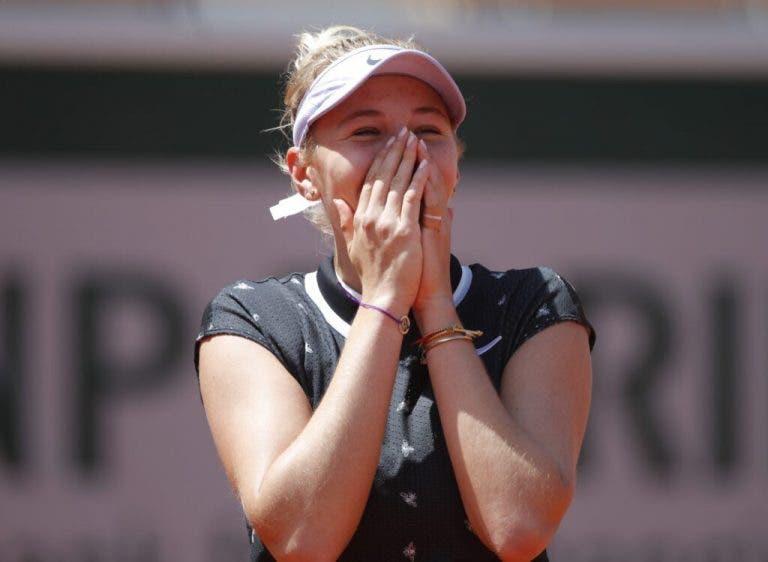 Anisimova: «Mi objetivo para la temporada es ganar un Grand Slam»