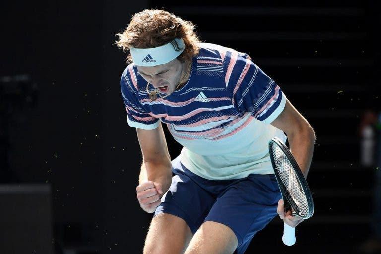 Zverev logra vencer y está en la tercera ronda del Open de Australia