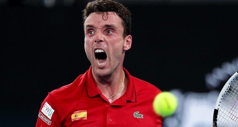 Bautista vence a Lajovic y da a España una ventaja en la final de la ATP Cup