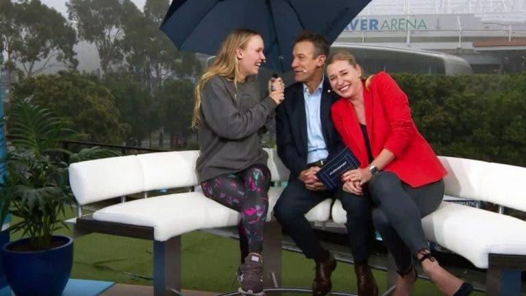 La lluvia pospone 32 encuentros para el martes en el Open de Australia