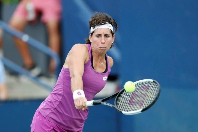 Carla Suarez Navarro es eliminada en la primera ronda en Auckland