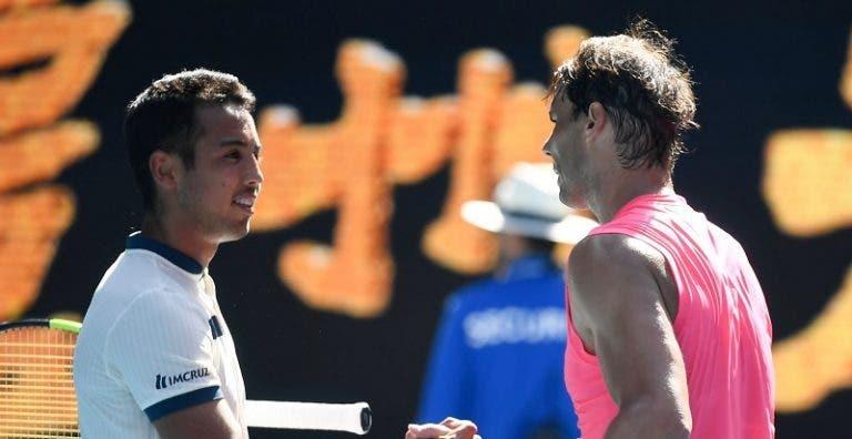 Para Hugo Dellien enfrentarse a Nadal fue como estar en un videojuego
