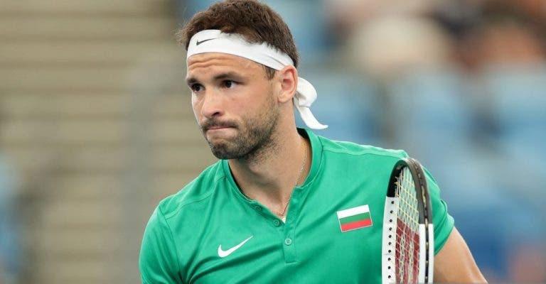 Dimitrov y el coronavirus: «Es complicado. El tenis es mi vida»