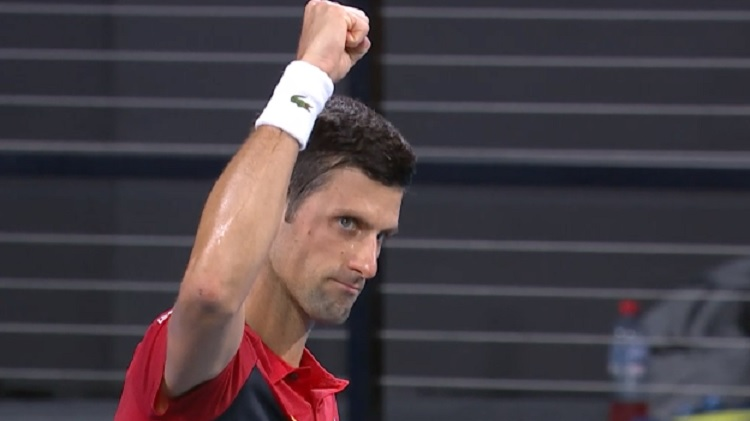 Djokovic derrota a Anderson, y Serbia le gana a Sudáfrica en la ATP Cup