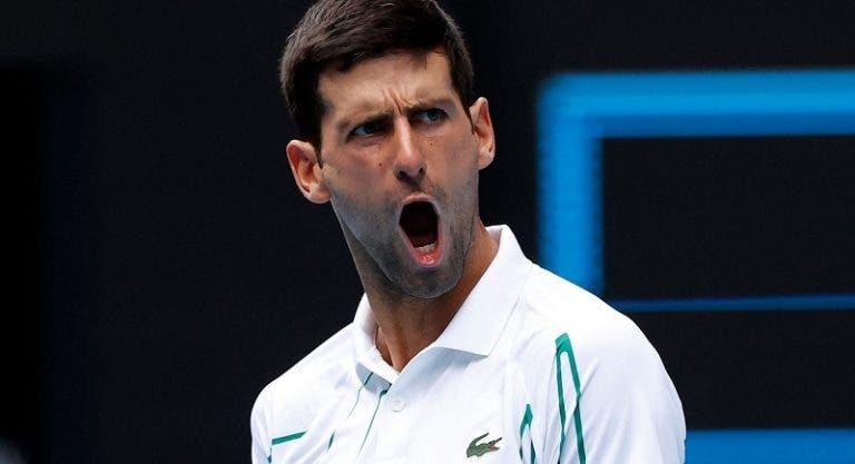 Novak Djokovic vence y avanza a la tercera ronda en el Open de Australia