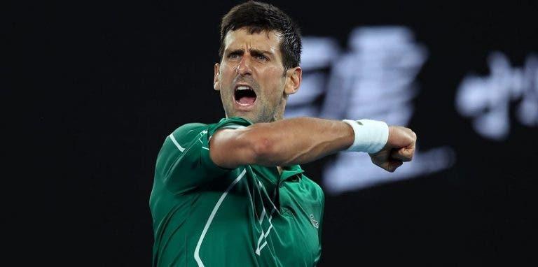 [VIDEO] El punto que le hizo ganar a Djokovic el 17º título de Grand Slam