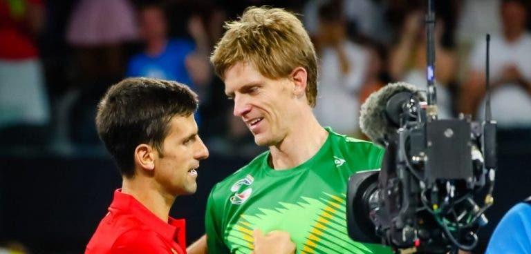 Novak Djokovic está sorprendido con el nivel de juego de Anderson
