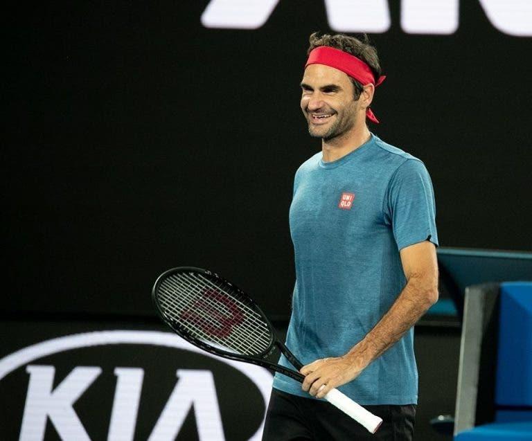 Roger Federer está ansioso por el sorteo del Cuadro del Open de Australia