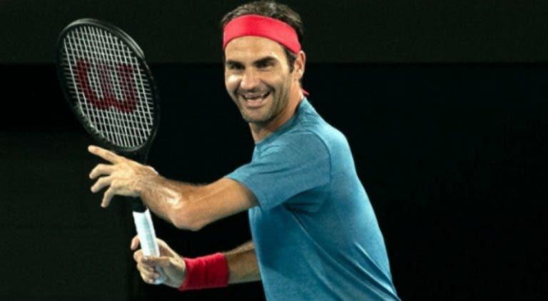 Roger Federer está emocionado por el inicio del Open de Australia