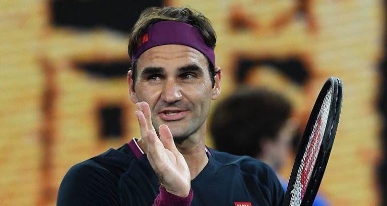Federer es el semifinalista más antiguo del Open de Australia desde 1977