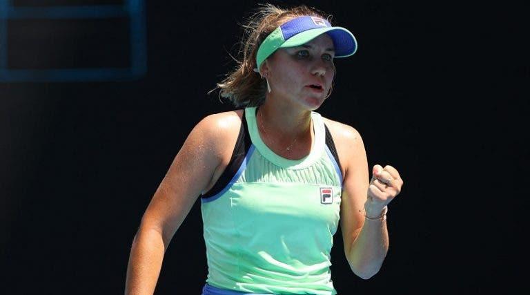 Kenin llega a las semifinales de un Grand Slam por primera vez