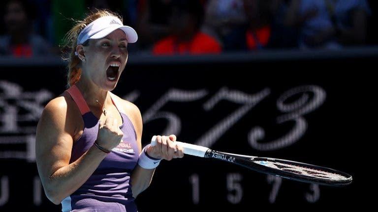 Kerber va a los 'octavos' por 5° vez consecutiva; Pliskova queda eliminada