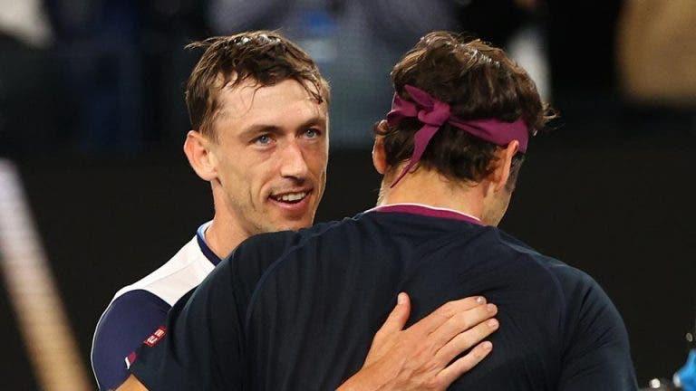 Millman se siente desilusionado por no haber podido ganarle a Federer