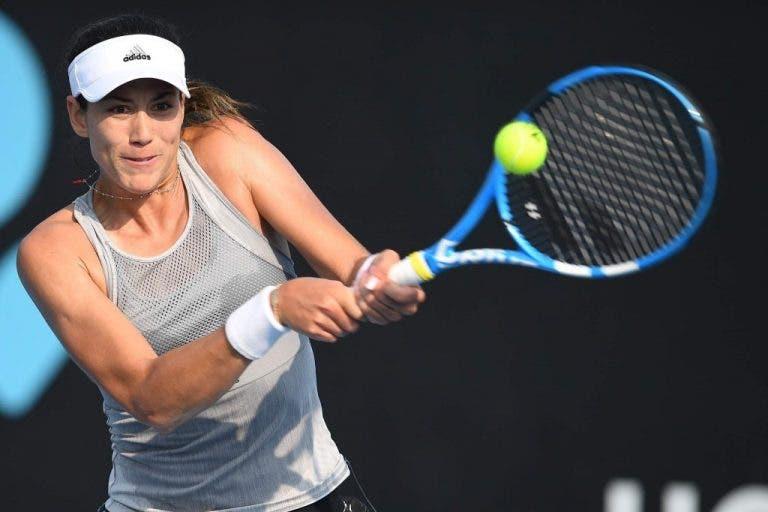 Garbiñe Muguruza avanza a la segunda ronda del Open de Australia
