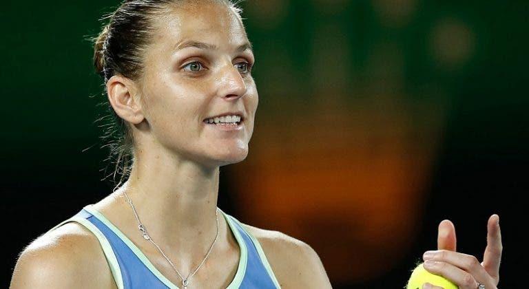 Karolina Pliskova sigue firme y está en la tercera ronda de Melbourne