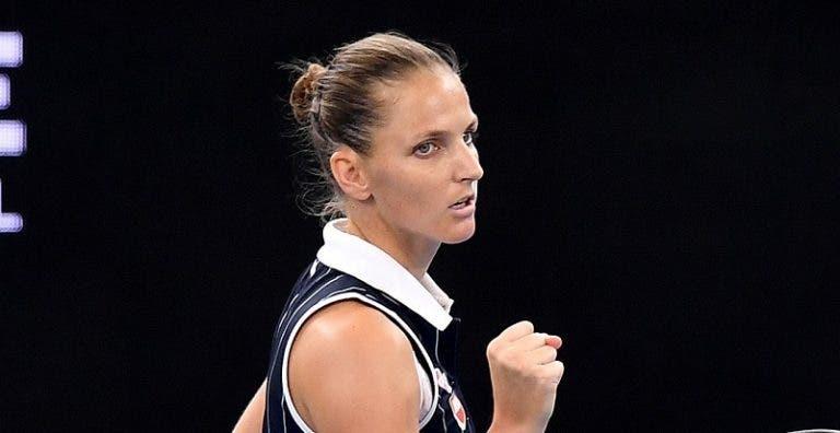 Pliskova vence a Keys y conquista el WTA de Brisbane por tercera vez
