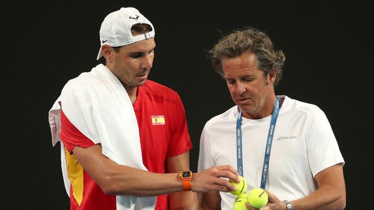 Roig dice estar orgulloso de dirigir al equipo español en la ATP Cup