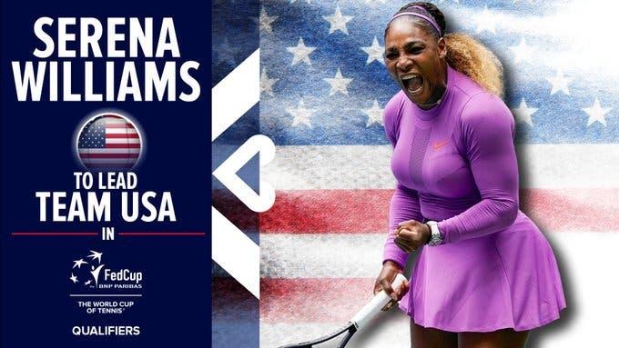 Serena Williams volverá a la Fed Cup luego de dos años