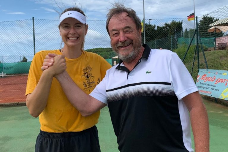 Piatti: Sharapova «es la persona más trabajadora que he entrenado»