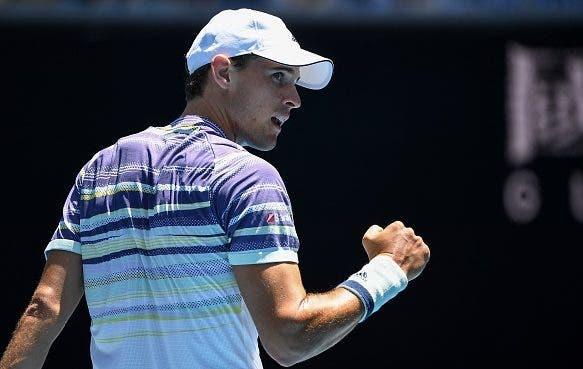 Thiem juega bien y avanza a la segunda ronda del Open de Australia
