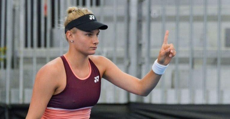 Dayana Yastremska sobre el Adria Tour: «Me siento mal por Djokovic»
