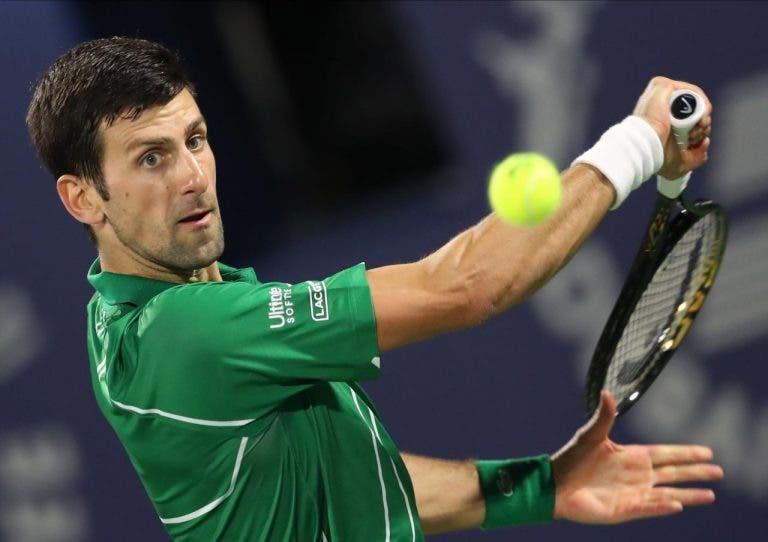 Novak Djokovic analiza su dramático triunfo ante Gael Monfils en Dubai