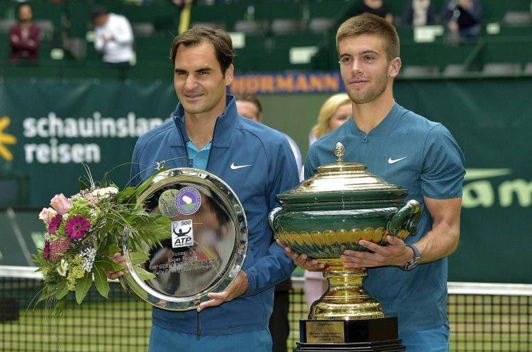 «Vencer a Federer sobre césped fue algo mágico»