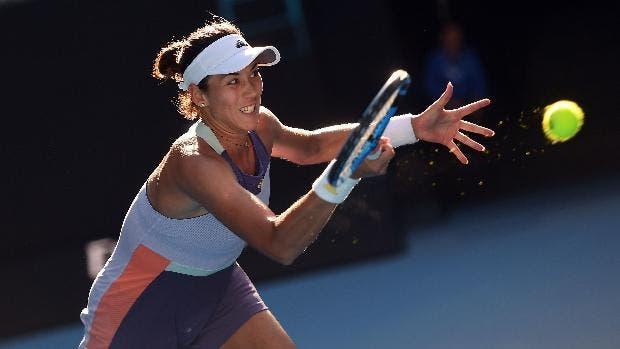 Muguruza logró pasar a los cuartos de final del WTA Premier de Dubái