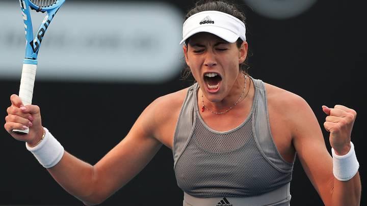 Garbiñe Muguruza cae en Doha ante la número 1 de la WTA