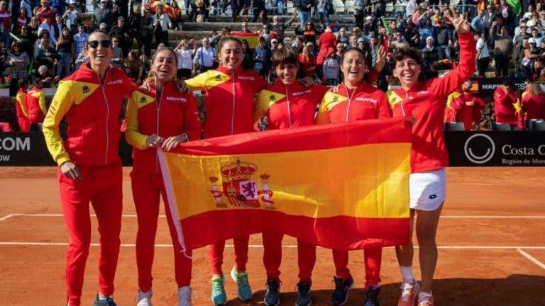 España y Estados Unidos se enfrentarán en el grupo C de la Fed Cup 2020