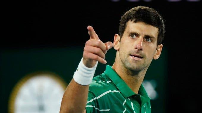 Nico Jarry recibe fuerte apoyo por parte de Novak Djokovic
