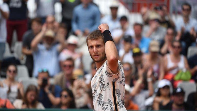 Corentin Moutet da el golpe y elimina a Guido Pella en el Córdoba Open