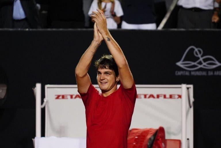 Thiago Wild llega por primera vez a los cuartos de final de un torneo ATP